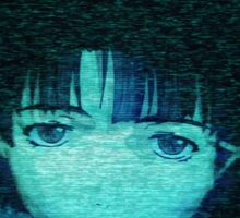 Lain on Internet Sticker