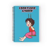 Heidi doesn't give a sheep Spiral Notebook