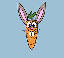 Cute Bunny Rabbit Carrot Unisex T-Shirt