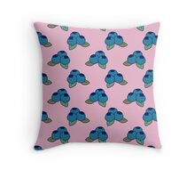 Simple Blueberry Pattern Throw Pillow