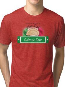 Low-Cal Calzone Zone Tri-blend T-Shirt
