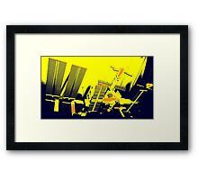 ISS (Trio Collection) Framed Print