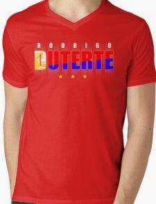 Duterte Pilipinas Mens V-Neck T-Shirt