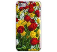 LADY TULIPS AT PLAY iPhone Case/Skin