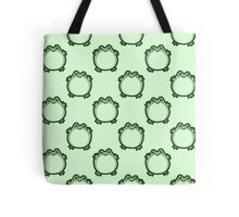 Cute Frog Pattern Tote Bag