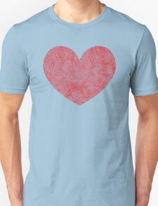 Red Heart Love Unisex T-Shirt