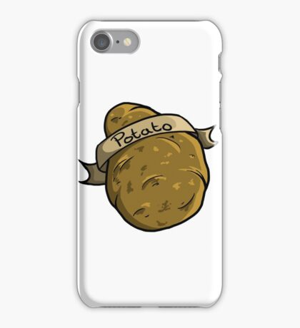 Potato iPhone Case/Skin
