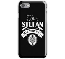 Team Stefan. Stefan Salvatore. TVD. iPhone Case/Skin