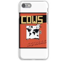 Cows are Square iPhone Case/Skin
