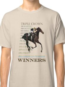 Triple Crown Winners 2015 American Pharoah Classic T-Shirt