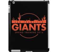 San Francisco Spring Training  iPad Case/Skin