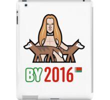 Belarus 2016 iPad Case/Skin