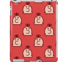 Mr. Saturn Red Pattern iPad Case/Skin
