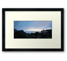 Point Arena Pier Framed Print