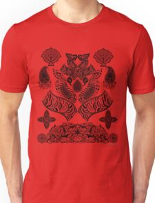 Intricate Indian Inspired Line Art Unisex T-Shirt