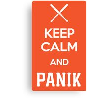 KCP - Keep Calm and Panik Canvas Print