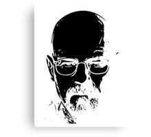 Walter White minimal Canvas Print