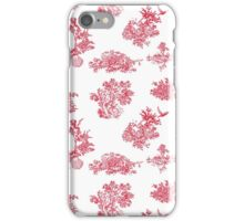 Toile du Holly iPhone Case/Skin