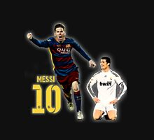 Messi vs Ronaldo Unisex T-Shirt