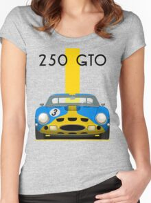 Ferrari 250 GTO Women's Fitted Scoop T-Shirt