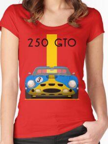Ferrari 250 GTO Women's Fitted Scoop T-Shirt