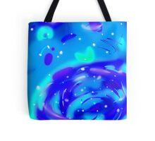 Color Shift Galaxy Tote Bag