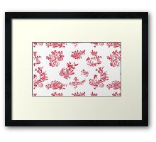 Toile du Holly Framed Print