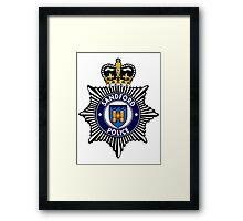 Sandford Police Framed Print
