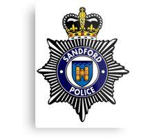 Sandford Police Metal Print
