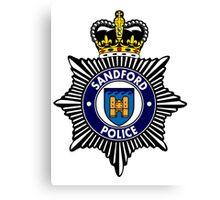 Sandford Police Canvas Print
