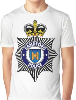 Sandford Police Graphic T-Shirt