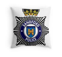 Sandford Police Throw Pillow