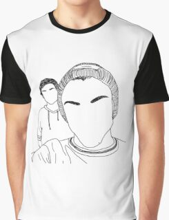 GD & ED outline Graphic T-Shirt