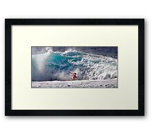 The Art Of Surfing In Hawaii 33 Framed Print