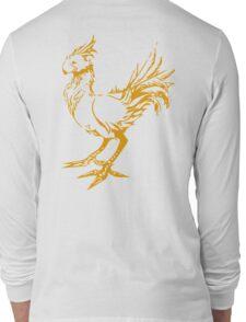 Gold chocobo Long Sleeve T-Shirt