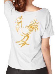 Gold chocobo Women's Relaxed Fit T-Shirt
