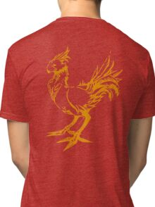 Gold chocobo Tri-blend T-Shirt