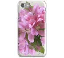 Pink blossoms iPhone Case/Skin