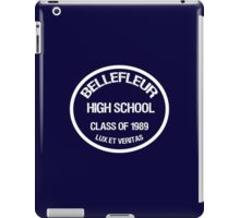 Bellefleur High - Class of '89 iPad Case/Skin