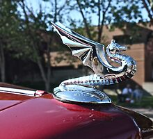 Dragon Hood Ornament by Linda Bianic