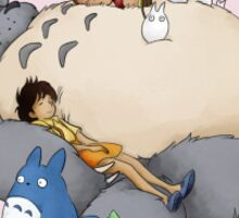 Sleeping Totoro Sticker