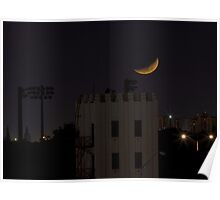 Falling Moon Poster