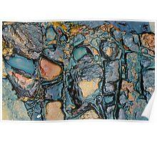 Glistening Ocean Rock Poster