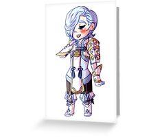 Shigure Chibi Greeting Card