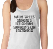 Holiday/Vacation - Ready for Summer - Black Women's Tank Top