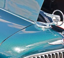 Pontiac Eight Hood Ornament by Linda Bianic