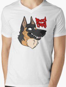 BadDog-Gshep Mens V-Neck T-Shirt