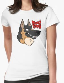 BadDog-Gshep Womens Fitted T-Shirt