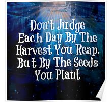 Plant The Seed - Typographical Print Poster