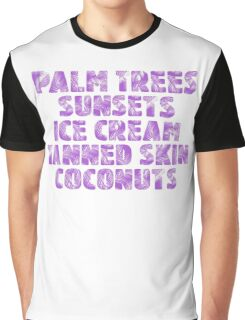 Holiday/Vacation - Ready for Summer - Purple Graphic T-Shirt
